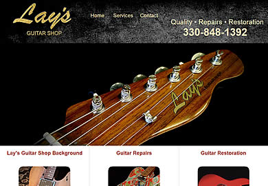 Lay's Guitar Shop in Akron, OH